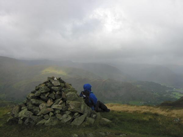 Brock Crags' summit