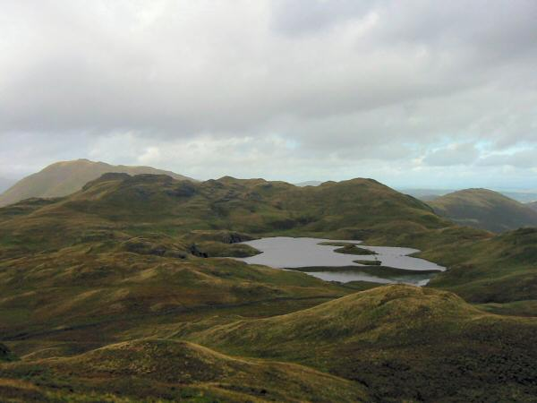 Place Fell, Angletarn Pikes and Angle Tarn from Brock Crags