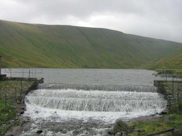 Hayeswater with High Street behind
