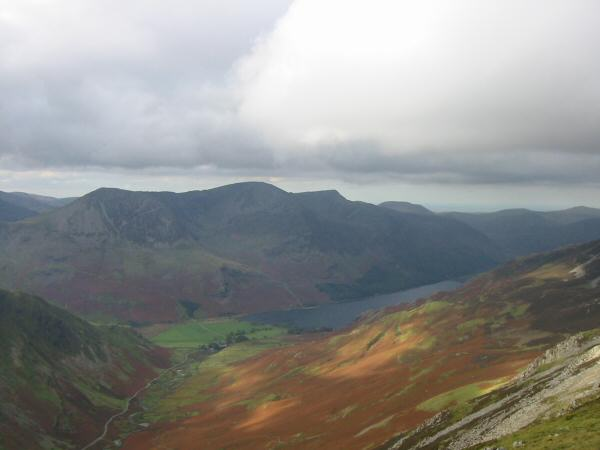 High Crag, High Stile and Red Pike above Buttermere