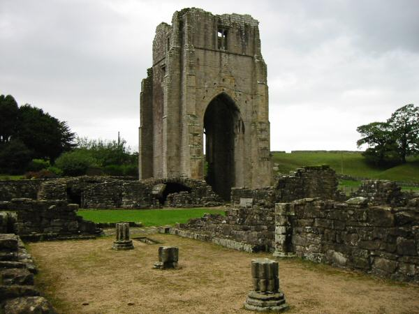 Shap Abbey (Dates from the late 12th century)