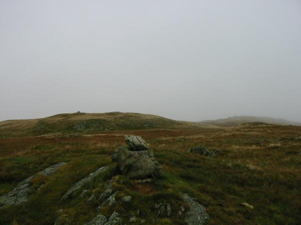 The highest point on Hare Shaw