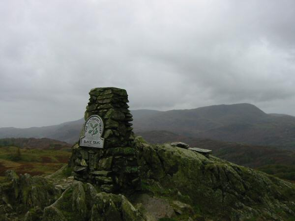 Wetherlam from Black Crag's summit