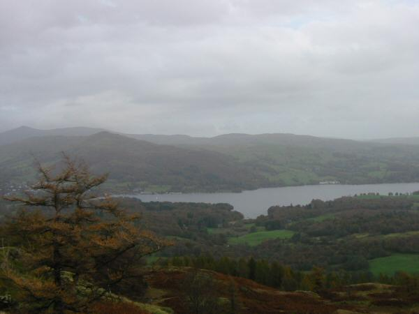 Windermere from the summit