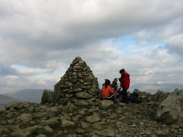 Swirl How's summit cairn