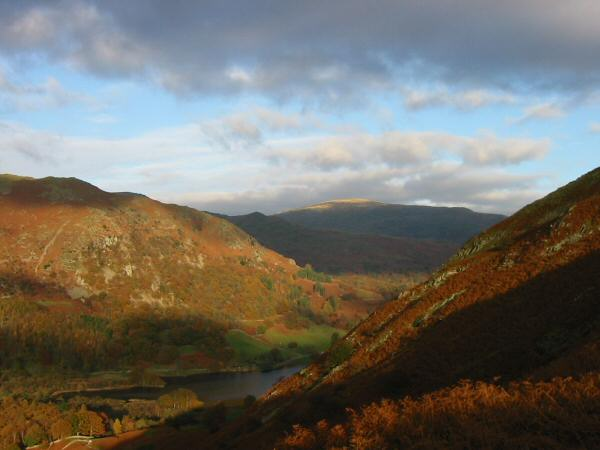 Nab Scar, Red Screes and Rydal Water