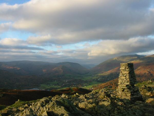 Loughrigg Fell's summit