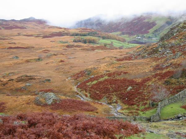 The route to Watendlath