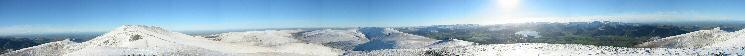 360 Panorama from Skiddaw Little Man's summit