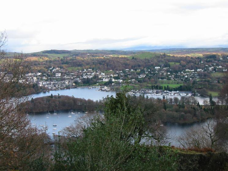 Bowness-on-Windermere and Belle Isle