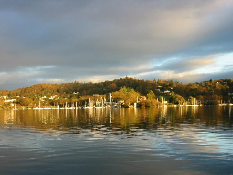 Looking across to Ferry Nab, Bowness from Ferry House