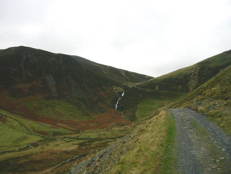 Looking towards Whitewater Dash (Dash Falls)