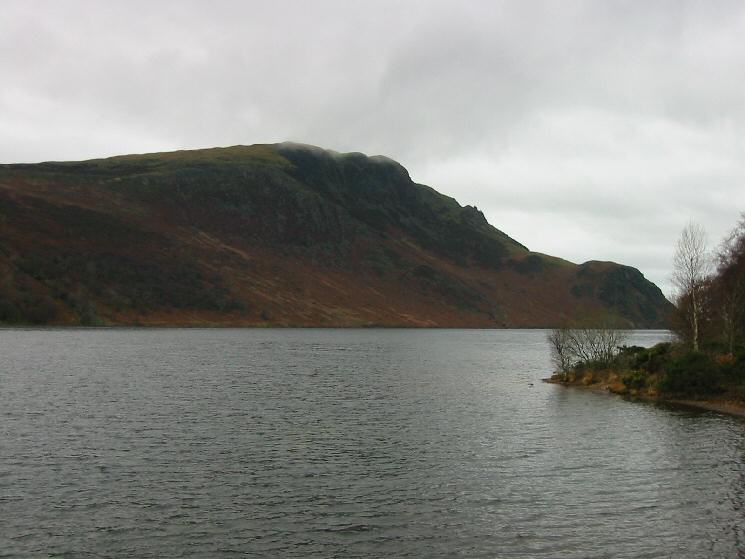 Looking across Ennerdale Water to Crag Fell