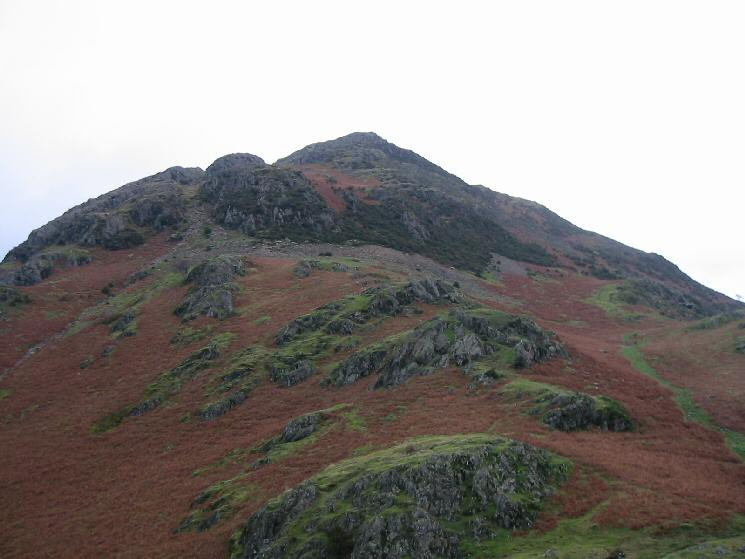 The 'sharp end' of Rannerdale Knotts