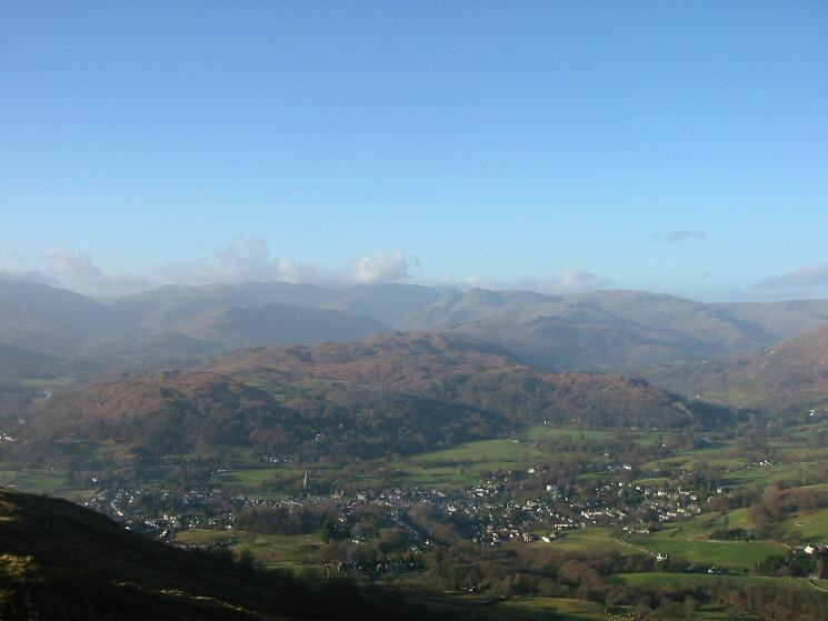 Loughrigg Fell and Ambleside