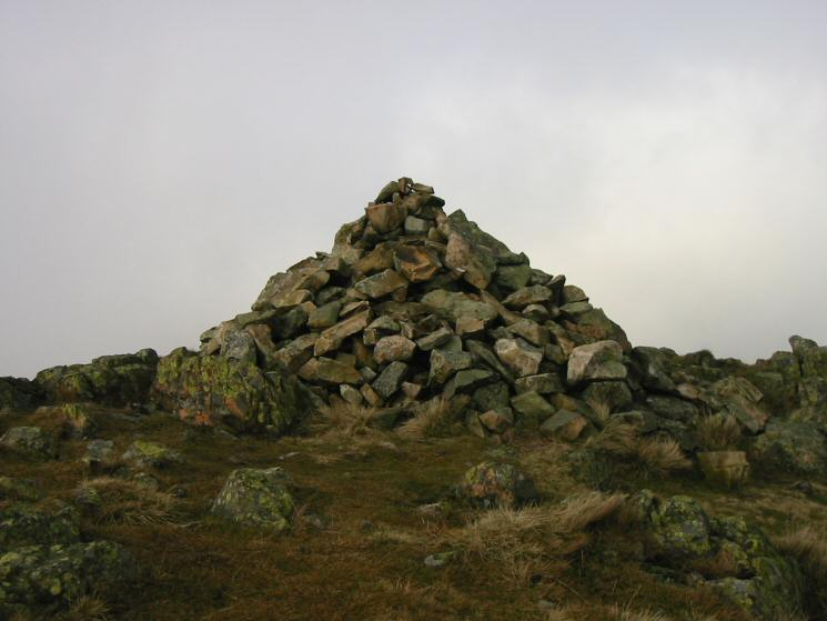 Middle Fells' summit cairn