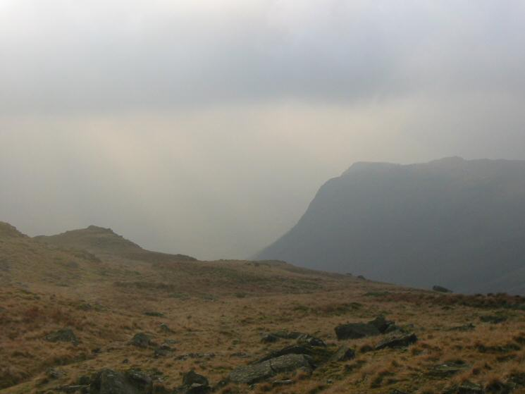Buckbarrow from the descent to Greendale