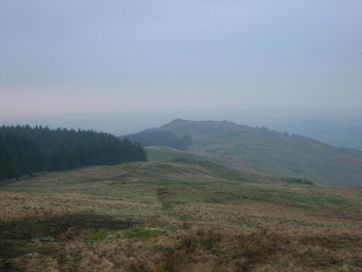 Looking back to Irton Pike