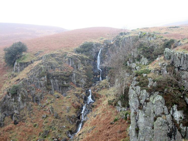 Waterfall at the head of Miterdale