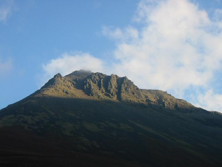 Great Napes on Great Gable in sunshine