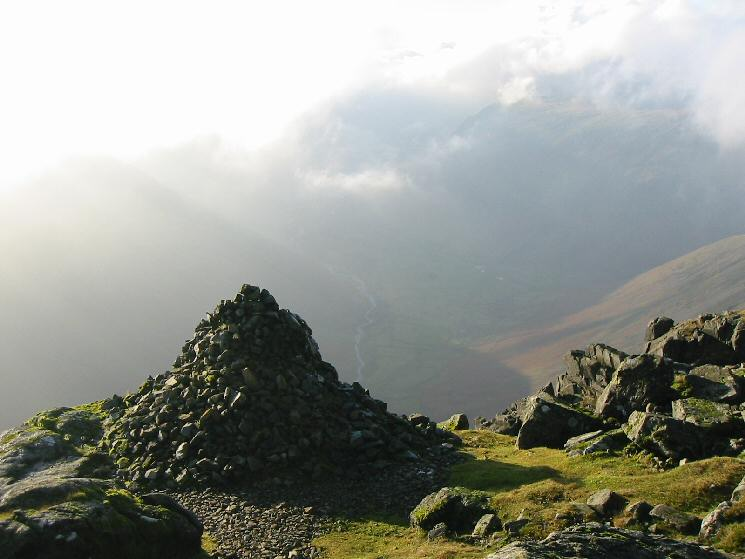 Westmorland Cairn, Great Gable