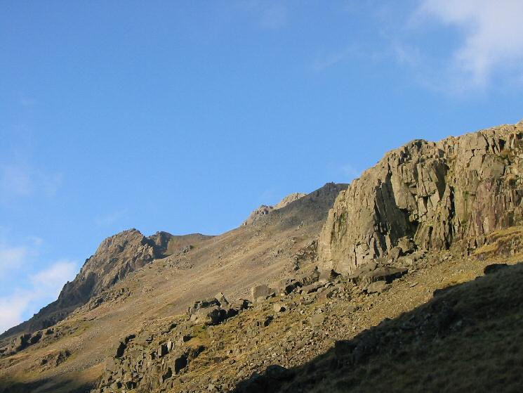 Great Napes on the left and Kern Knotts on the right
