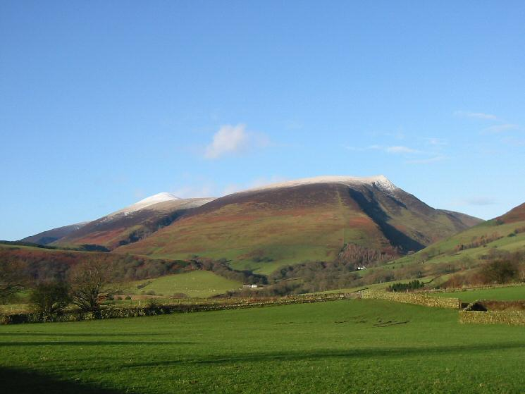 Skiddaw Little Man and Lonscale Fell