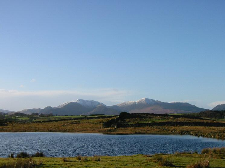 The north western fells from Tewet Tarn