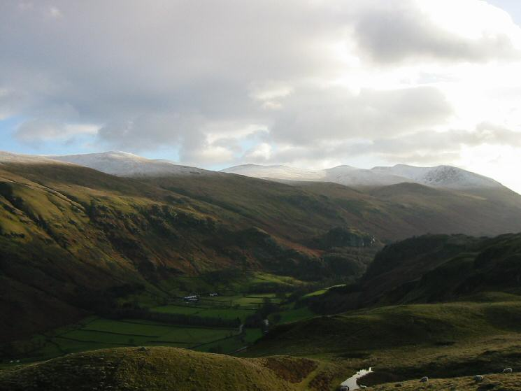 St John's in the Vale and the Helvellyn range