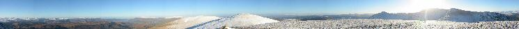 360 Panorama from White Side's summit