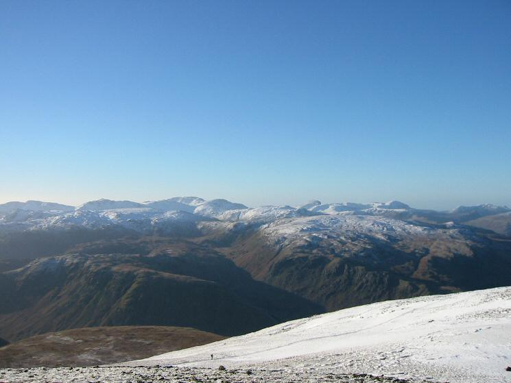 The view west from Dollywaggon Pike