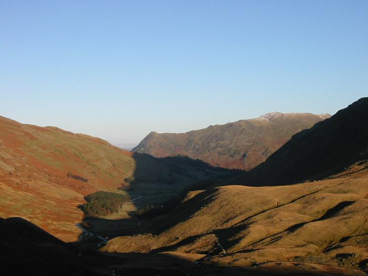 Looking down Grisedale to Place Fell