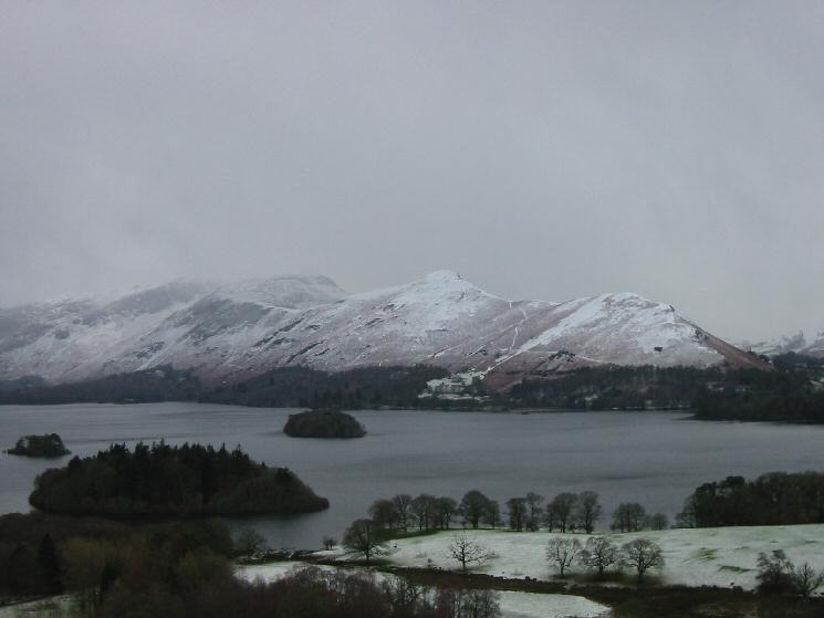 Catbells from Castle Head