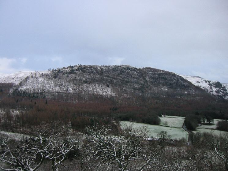 Walla Crag from Castle Head