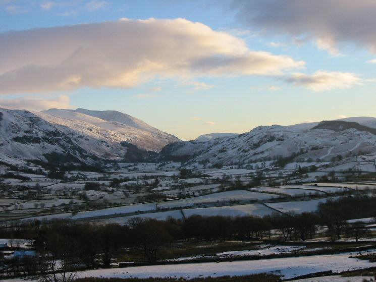 Helvellyn and St. John's in the Vale