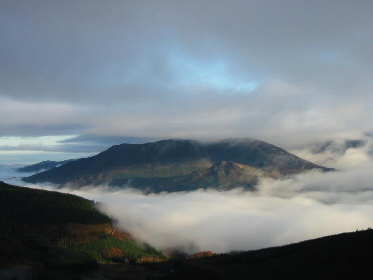 Another view of the cloud inversion