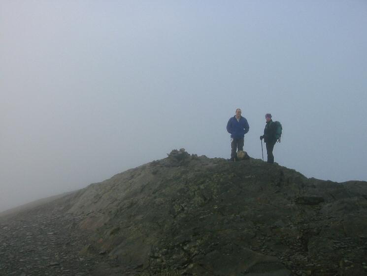 Grisedale Pike's summit