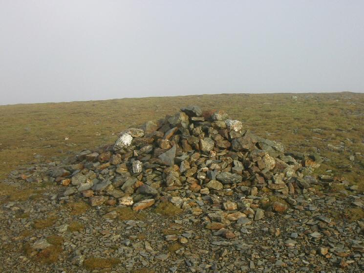 Sand Hill's summit