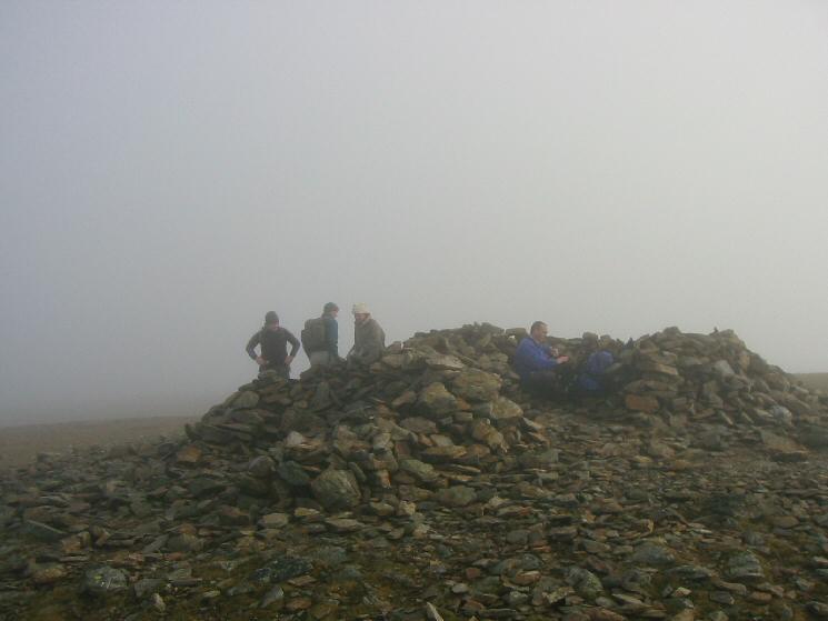 Grasmoor's summit
