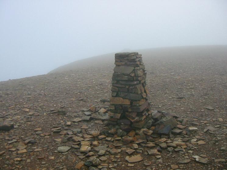 Eel Crag's summit