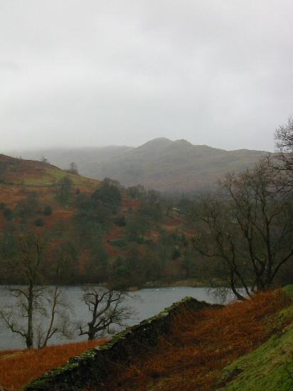 Looking over Rydal Water to Low Pike