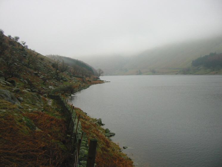 A full Haweswater from the footpath to The Rigg
