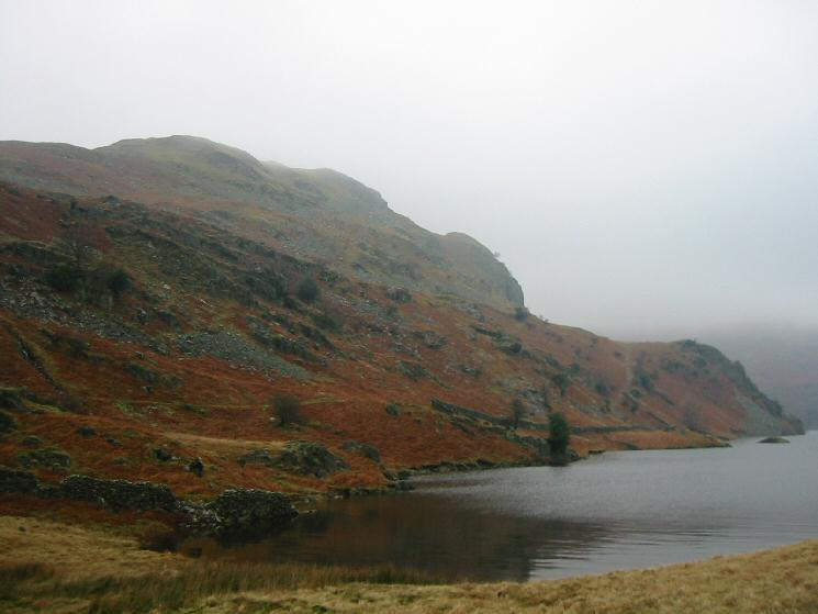 Flakehowe Crags and Castle Crag
