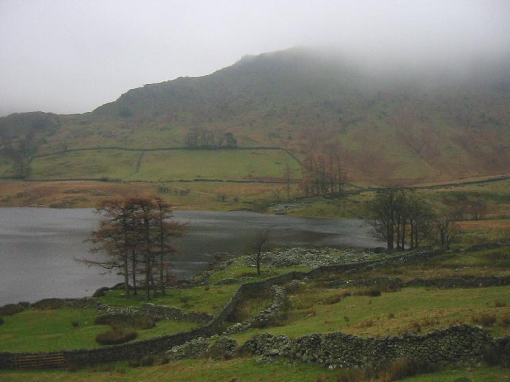 The ruins of Riggindale Farm