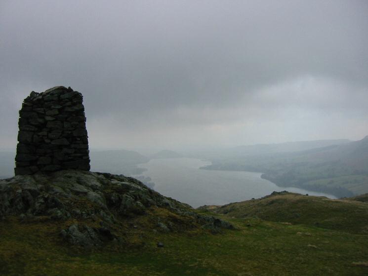 Hallin Fell summit