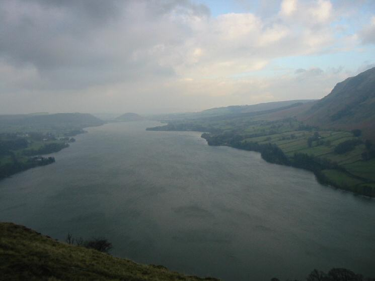 Looking north down Ullswater