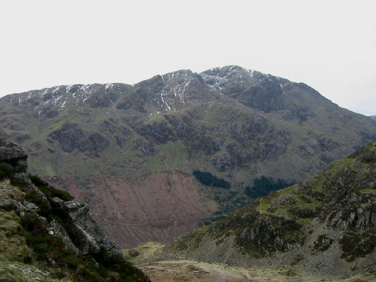Looking across Ennerdale to Pillar from Haystacks