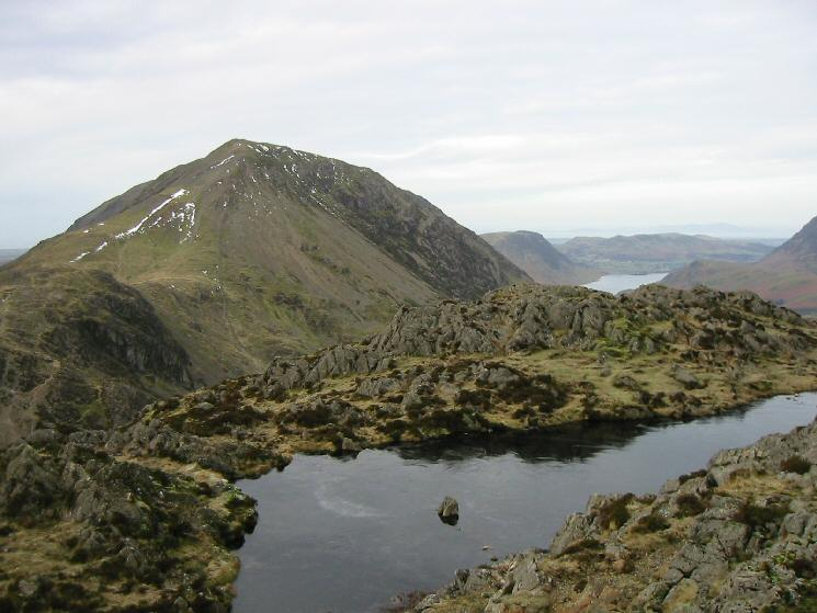 Gamlin End (High Crag) from Haystacks' summit