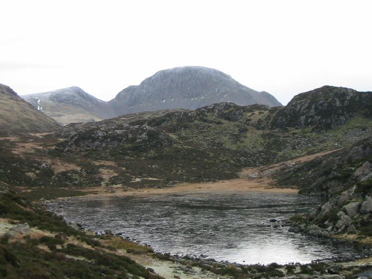 Great Gable from Blackbeck Tarn