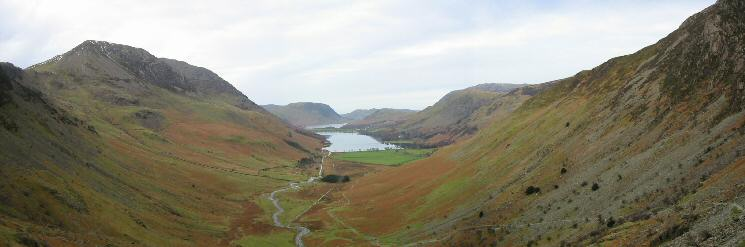 Another shot of the Buttermere valley from our descent from Dubs Quarry